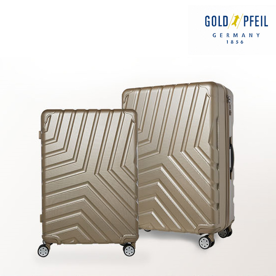 [GOLD PFEIL] 리퍼브상품 골드파일 콰트로 여행캐리어 6종세트 (26형+21형+네임택2+스티커2)